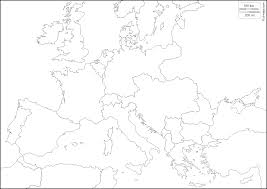 Blank Physical Map Of Europe by Europe 1914 Free Map Free Blank Map Free Outline Map Free Base