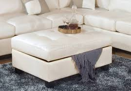 coffee tables ottoman white leather coffee table bench oversized