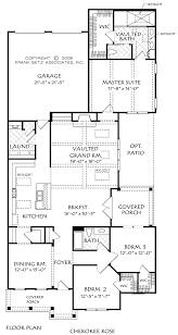 cherokee rose house floor plan frank betz associates