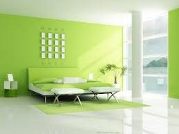 painting inside house fresh home interior with natural green color 4 home ideas