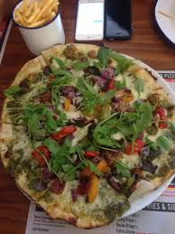 California Pizza Kitchen Tostada Pizza Gourmet Coffee Bar Leicester From Coffee With Love