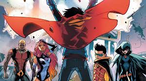 teen titans first look superboy joins the teen titans dc