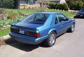 1982 ford mustang hatchback blue 1982 ford mustang gt hatchback mustangattitude com photo detail