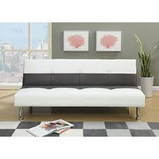 Faux Leather Sofa Sleeper And White Faux Leather Sofa Bed