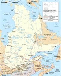 Map Of Canada Cities And Provinces by Of Canada With Cities And Provinces