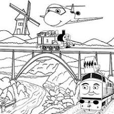 free printable boys drawing worksheets tank engine thomas