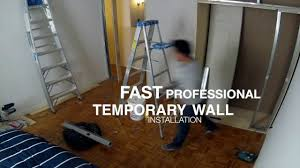 Temporary Bedroom Walls Temporary Wall Company Nyc Temporary Walls Nyc Youtube
