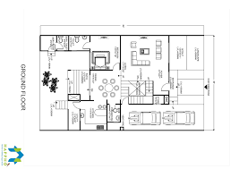 duplex floor plan 3 bhk floor plan for 65 x 40 plot 2600 square feet 289