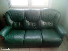 canap cuir vert vend canape cuir occasion clasf