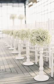 aisle decorations of gorgeous winter wedding aisle decor ideas 8