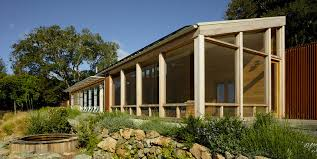 solar powered cloverdale house is made of reclaimed wood from a