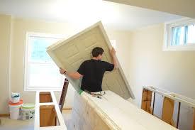 Install Interior Prehung Door by Diwyatt Installing A Pre Hung Door Frame Loving Here
