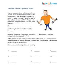 pre algebra printable worksheets lovetoknow