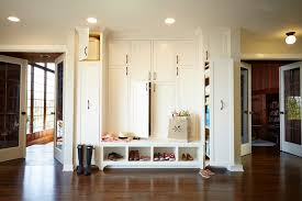 mudroom design ideas entry traditional with recessed lighting shoe