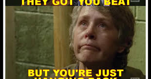 Carol Twd Meme - deadshed productions cool as carol edition the walking dead 6x13