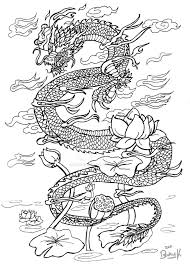 some sort of oriental dragon old by somnusvorus on deviantart