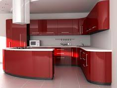 Kitchen Of The Day Modern Red Kitchen Cabinets  Kitchen - Latest kitchen cabinet design