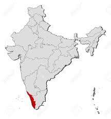 Map Of India Cities Political Map Of India With The Several States Where Kerala Is