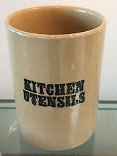 kitchen utensil canister pearsons of chesterfield pottery china ebay