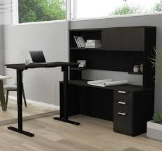 Gray Computer Desk Computer Desks With Hutch From Computerdesk