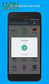 voice search app for android voice search launcher for android free at apk here store