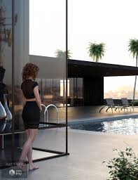 poolhouse the pool house 3d models and 3d software by daz 3d
