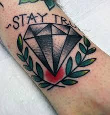 70 diamond tattoo designs for men precious stone ink