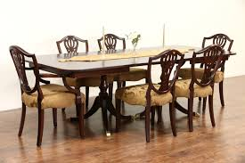 Vintage Dining Room Table Sold Drexel Travis Court Signed 1950 U0027s Vintage Double Pedestal