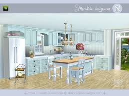 sims 3 kitchen ideas coastal kitchen by simcredible sims 3 downloads cc caboodle