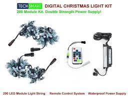 christmas light control module complete digital led christmas light plug play package 200