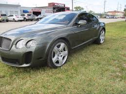 bentley blacked out oem original 2005 bentley continental gt supersports coupe w12
