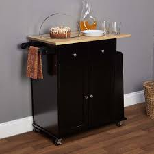 black kitchen cart amazing design 4moltqa com