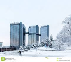 gothia towers hotel gothenburg sweden editorial photography