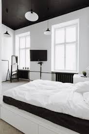 chambre blanche moderne chambre blanche en 65 idées de meubles et décoration plafond