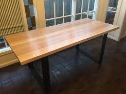 dining tables how to make table legs from wood steel dining