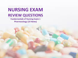 nursing exam review questions fundamentals of nursing exam 1