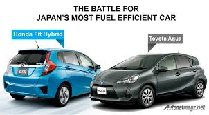 honda jazz facelift designed in japan to beat toyota aqua as the