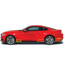 mustang quarter mustang front and rear quarter panel paint protection 15 17