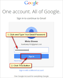 Gmail Sign In Gmail Sign In On New Interface