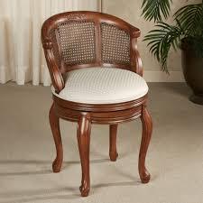 Swivel Vanity Stool Furniture Gorgeous Gorgon Swivel Vanity Stool Pattern For Elegant