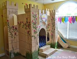 Castle Bunk Bed With Slide Castle Bunk Beds How To Bribe Your Children To Sleep By