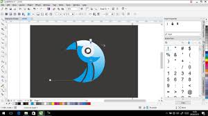 tutorial membuat logo coreldraw x5 coreldraw tutorial how to create a canvas painting design with