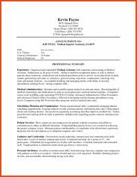 Medical Support Assistant Resume Sample by Certified Medical Assistant Resume Program Format