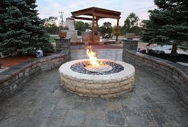 Round Brick Fire Pit Design - fire pit recommended fire pit custom design backyard patio