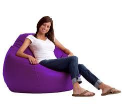 Big Joe Lumin Chair Sapphire by Bean Bag Chairs Canada Bean Bag Chair Bean Bag Chairs Barriebean