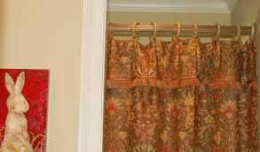 antique brass shower curtain rod antique vintage brass gooseneck