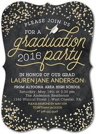 graduation party invitations honor all their achievements with a sparkling graduation party on
