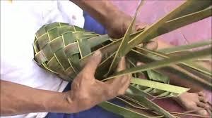 cara membuat kerajinan tangan dari janur cara membuat kisa dalam 5 menit anyaman daun kelapa youtube