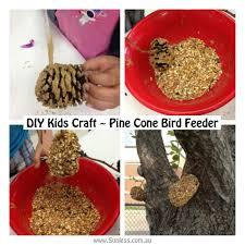 diy kids craft pine cone bird feeder fun for kenzie
