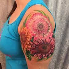 best 25 daisy flower tattoos ideas on pinterest name flower